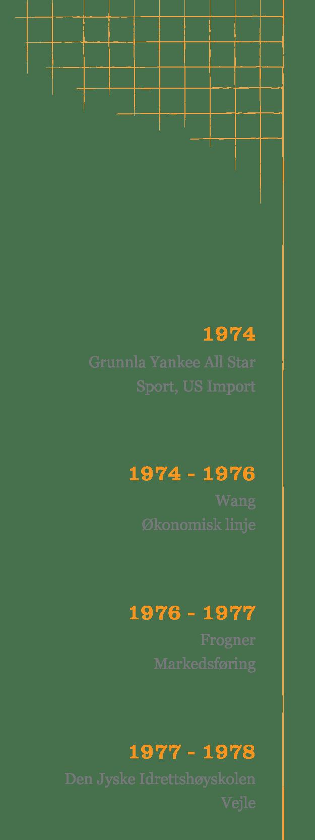 stokke tidslinje 1970